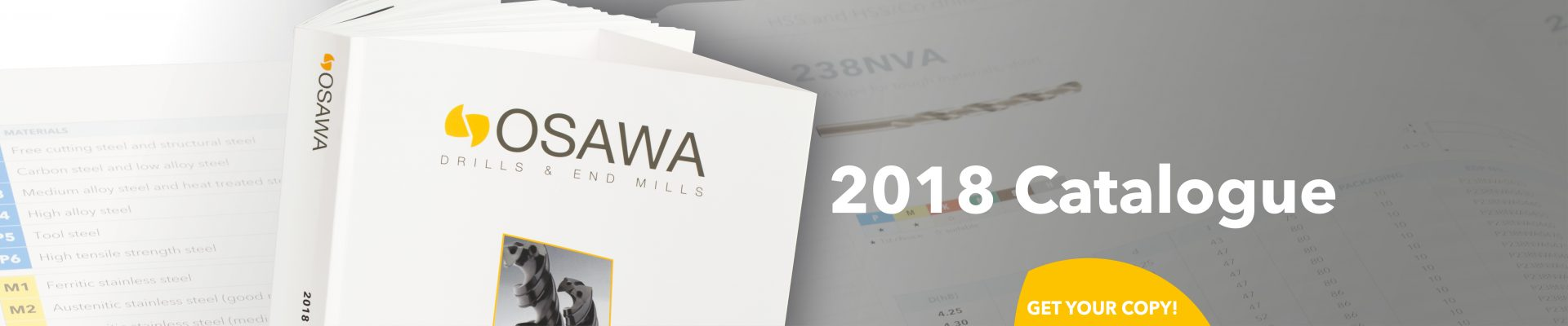 Get the 2018 Osawa Catalogue